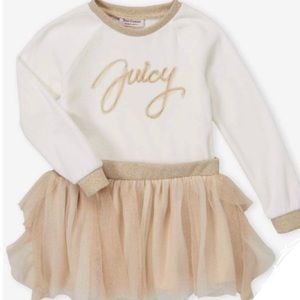 Juicy Couture Drop-Waist Tulle Dress